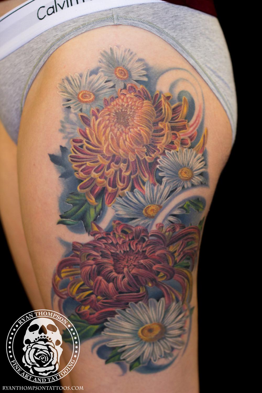 Bri's Chrysanthemum Flowers
