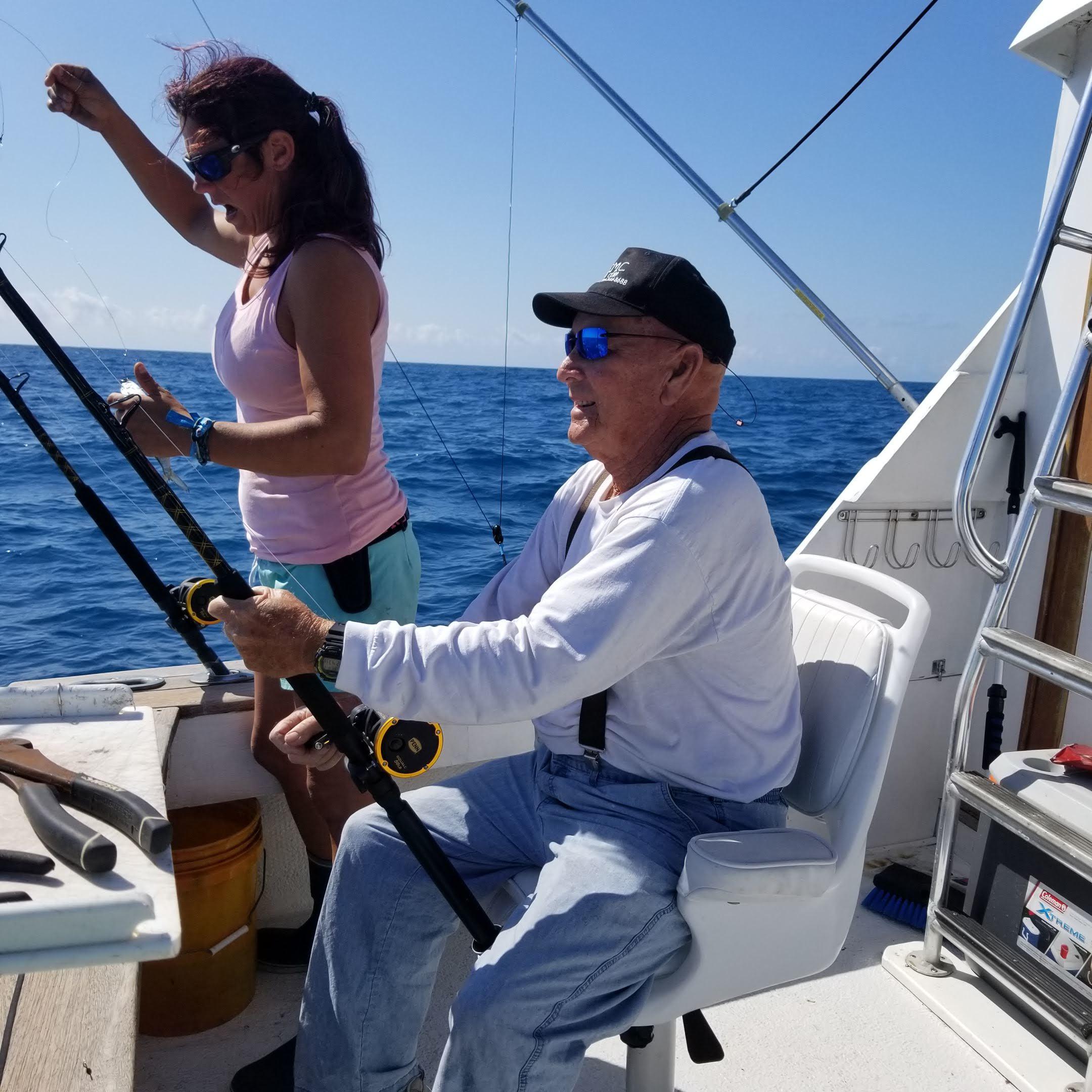Captain Brandi with Tony Estenoz, Sr.