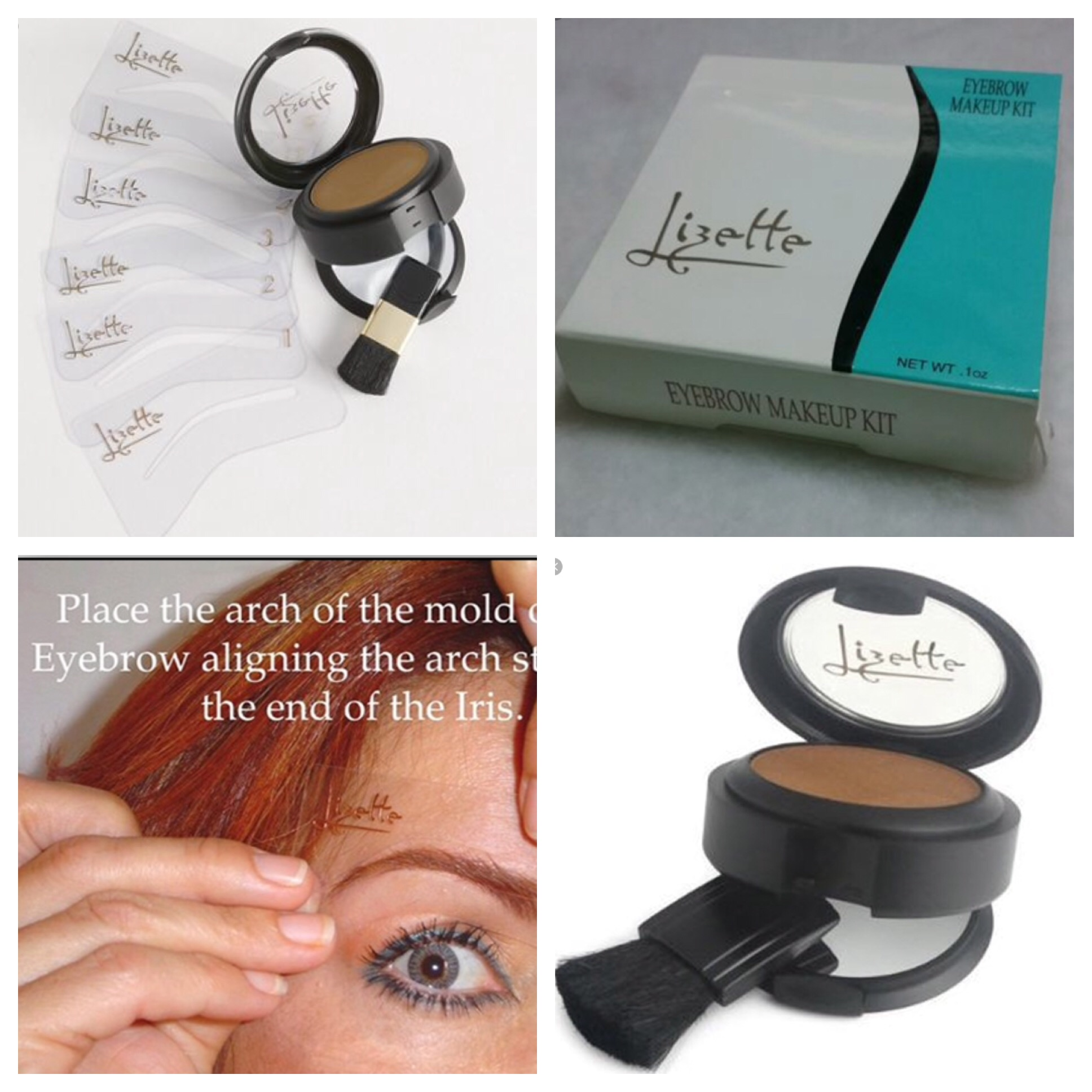 Lizette Eyebrow Makeup Kit Saubhaya