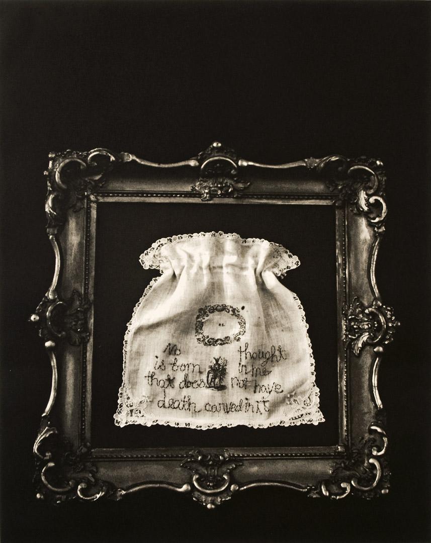 "Mourning Bag  Photogravure  21"" x 17"