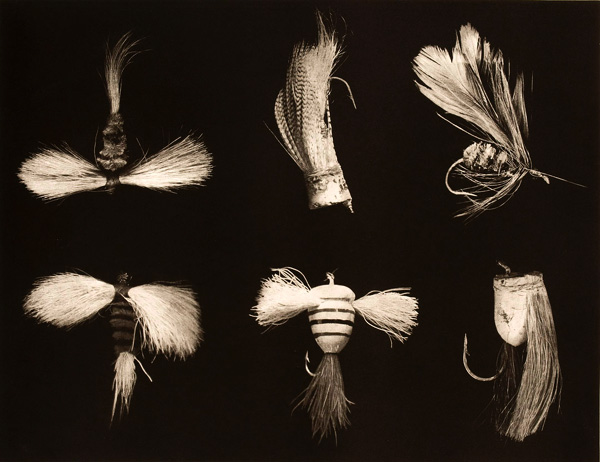 "Fishing Flies  Photogravure  17"" x 21"