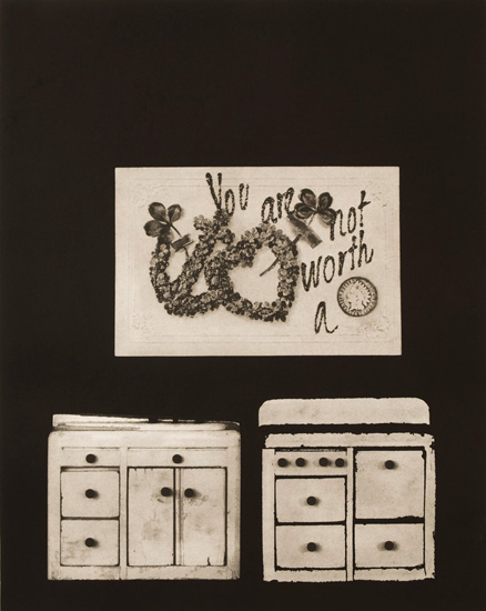 """You Are Not Worth a Penny  Photogravure  21"""" x 17"""