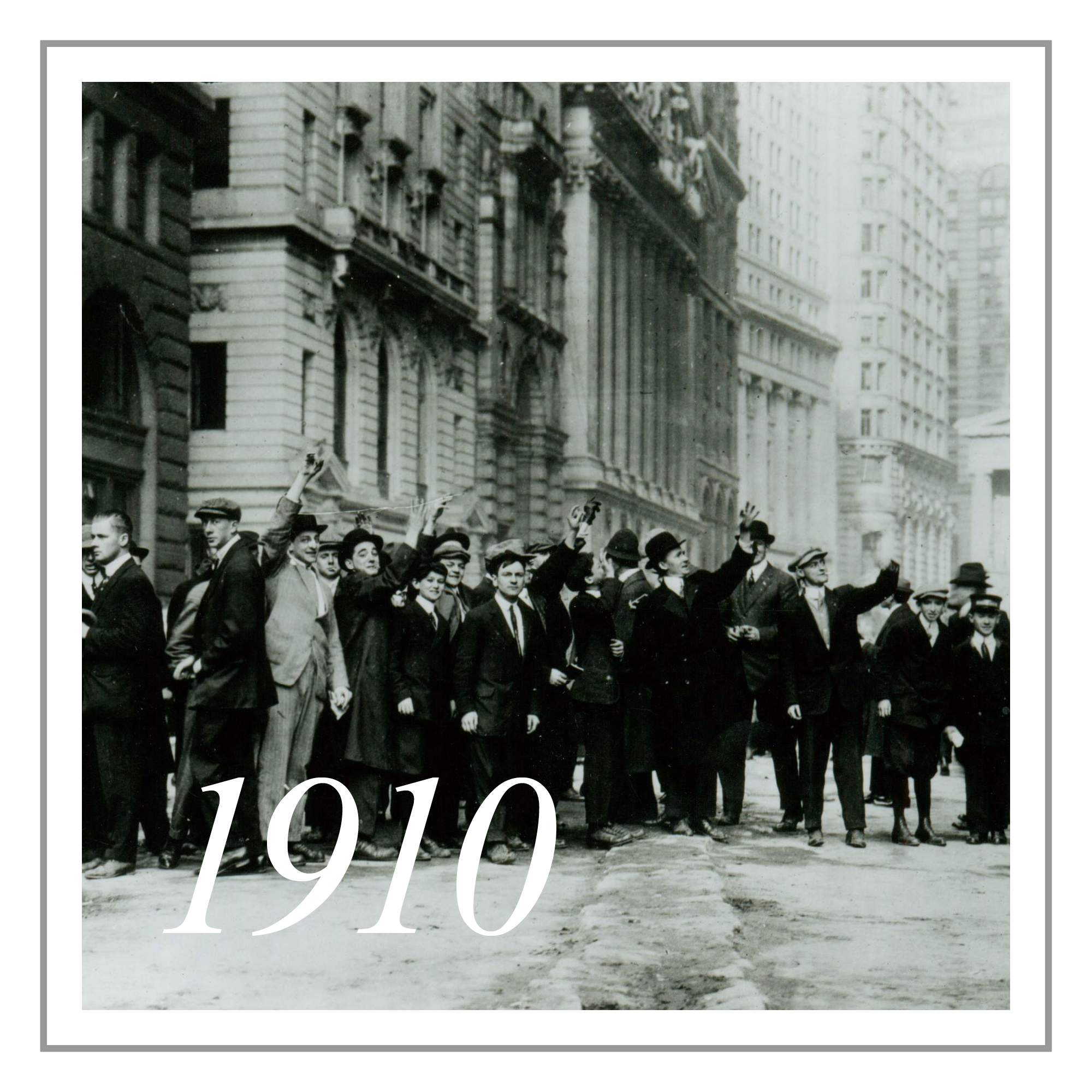 Early Beginnings - Our founder, Joseph Streicher, formed J. Streicher & Co and shortly thereafter joined the New York Curb Exchange, predecessor of the American Stock Exchange. It was the forefront of early Wall Street, and the beginning of the financial district, in the heart of downtown New York.