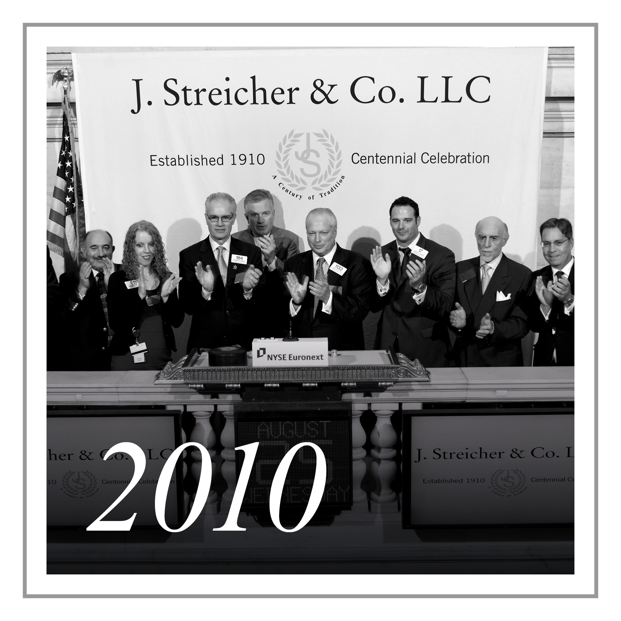 Over a Century of Excellence - The firm has remained a private business to date and as such, no Specialist Unit on the NYSE and few in the industry can look back on a heritage as long and rich as J. Streicher.