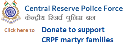 List of Martyr -  https://www.crpf.gov.in/martyr-gallery-list.htm   The Dalit Film and Cultural Festival stands in solidarity with the bereaved families of the CRPF martyrs and the Indian Armed Forces.   The Organizing Committee has decided that it will contribute and also do fund raising towards the Army Welfare Fund as part of our Dalit Film Festival initiative.     Click here to donate through us.    We can donate entire contribution to below account. We will publish the donor list    Come together, show solidarity with our DEFENCE FORCES, PARA MILITARY FORCES and CRPF.  JOIN THE MISSION TO MAKE INDIA A SUPER POWER !  Bank Details :   BANK : SYNDICATE BANK    BRANCH : SOUTH EXTENSION, NEW DELHI.    A/C NAME : ARMY WELFARE FUND BATTLE CASUALTIES    A/C NO : 90552010165915    IFSC CODE : SYNB0009055   Please circulate as much as you can.""