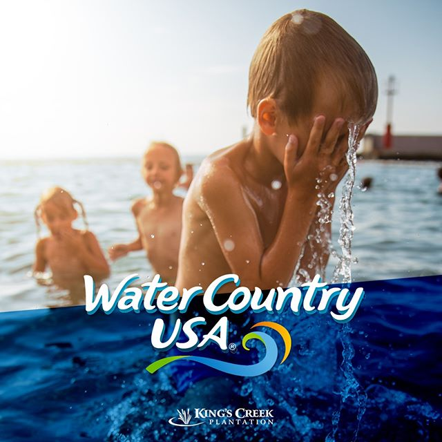 Water Country USA is open through September 8! Be sure to squeeze in one last day of fun and try out Virginia's first hybrid water coaster! #kingscreek #williamsburg #virginia #family #vacation #summer #buschgardens #watercountryusa #watercoaster #splash #fun