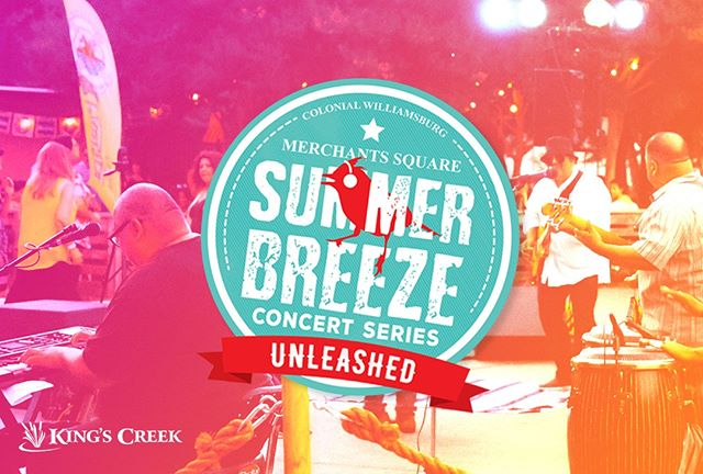 There are just a couple weeks left to enjoy the Summer Breeze Concert Series! Rain or shine, concerts are free every Wednesday from 6-9 p.m. in Colonial Williamsburg. So bring a lawn chair, fill up on delicious food truck grub, and enjoy the last sounds of summer with the ones you love. #kingscreek #williamsburg #colonialwilliamsburg #virginia #family #vacation #summer #concert #free #livemusic #localbands #food