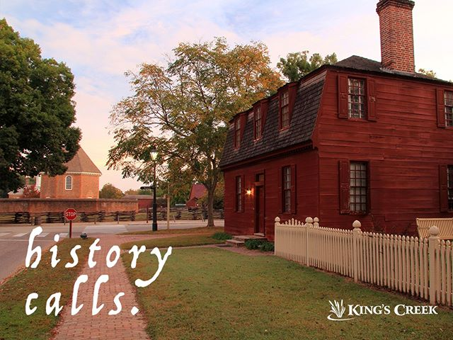The kids are back in school, and it's time to get excited about learning again! If you're looking for an interactive and engaging experience for the whole family, make a trip to Williamsburg and encounter living history. Learn more by visiting the link in bio! #backtoschool #interactivelearning #engagingactivities #livinghistory #getaway #instagood #historictriangle