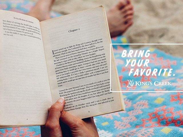 You're stranded on a deserted island. What book or movie would you want to have with you? (Pro tip: bring your favorite to King's Creek and cozy up for some R&R). #RandR #rest #recreation #favoritebooks #favoritemovies #kingscreek #askinsta #fallactivities