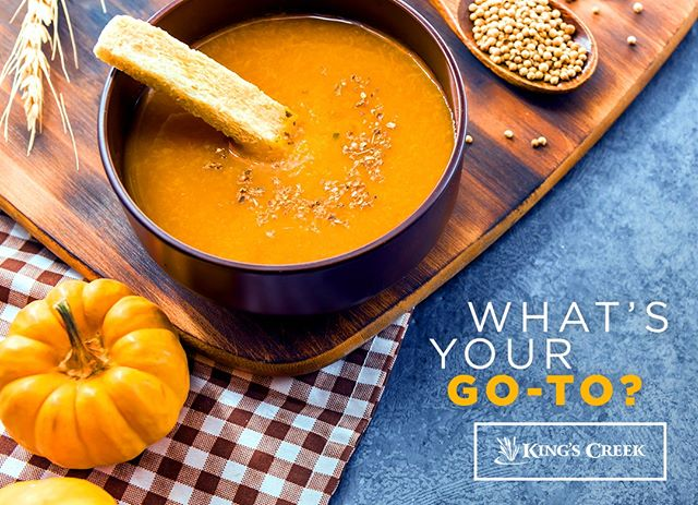 We're curious! What's your current go-to seasonal dish?  #fallflavors #seasonaldish #fallfavorites #autumnrecipes #fallrecipes #askinsta #instagood #instafood