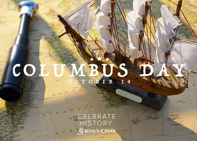 Columbus Day is coming this Monday! Celebrate America's enduring history over this long weekend by exploring Colonial Williamsburg. Use the link in bio to plan your visit. #columbusday #holidayweekend #happycolumbusday #america #americanhistory #colonialwilliamsburg #visitwilliamsburg #livinghistory #celebrateamerica