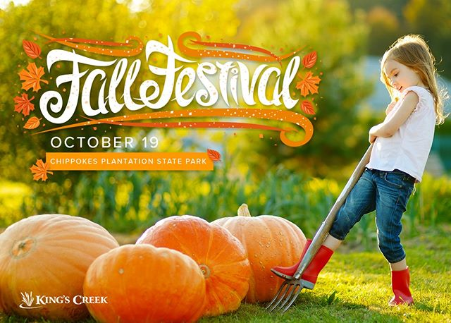 Chippokes Plantation State Park will be holding their 2019 Harvest Festival on October 19th. There's something for everyone with craft and food vendors, live bluegrass music and a number of fun activities including hearth cooking, basket weaving, yarn spinning, sack races, corn hole, and antique farming equipment demonstrations.  #fallharvest #statepark #harvestfestival #celebratefall #williamsburgva #visitwilliamsburg #fallactivities #fallfestival