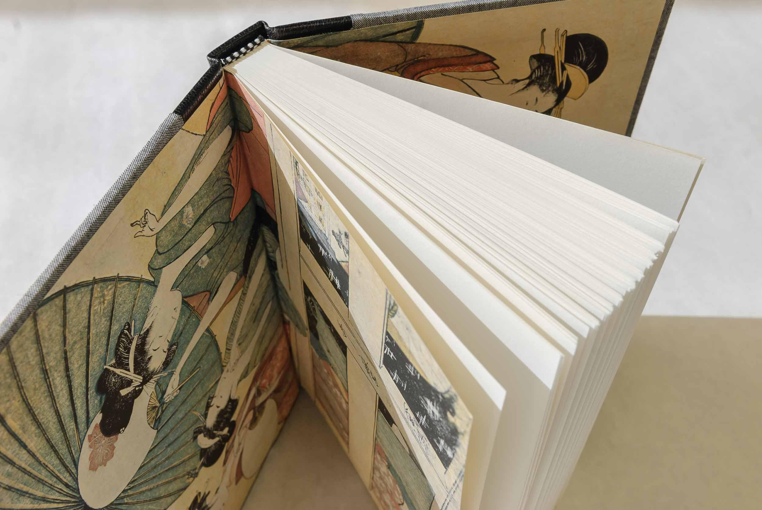 Classic format, design 2 (Japanese woodblock)