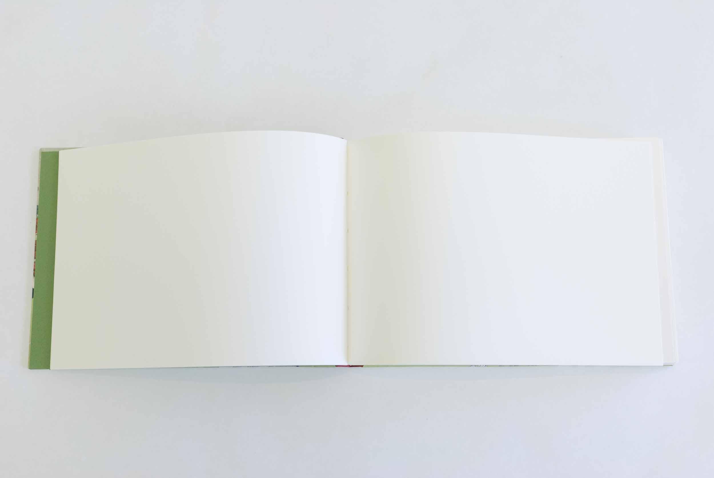 Sketchbook format, design 1 (Chinese lion), interior pages