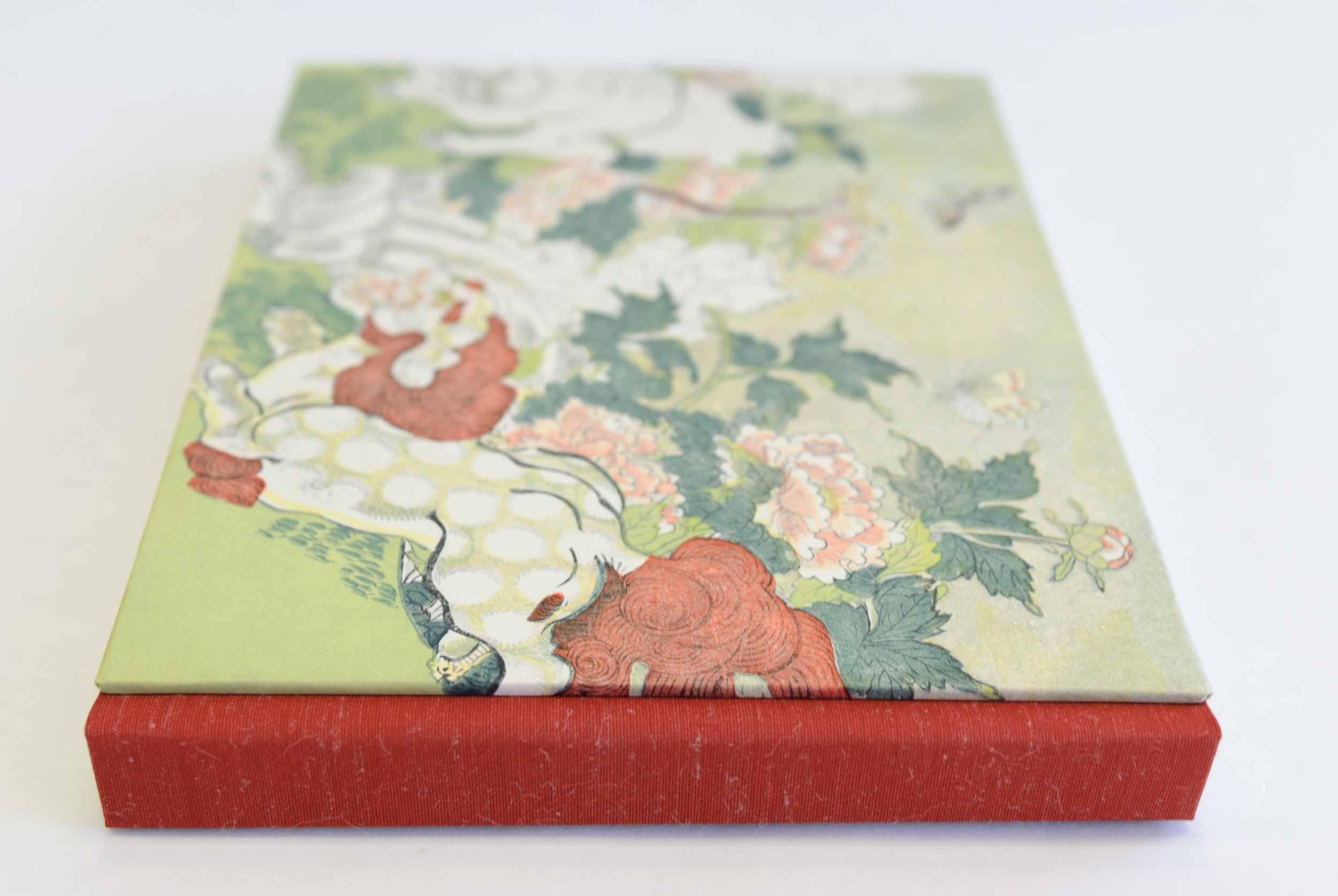 Sketchbook format, design 1 (Chinese lion)