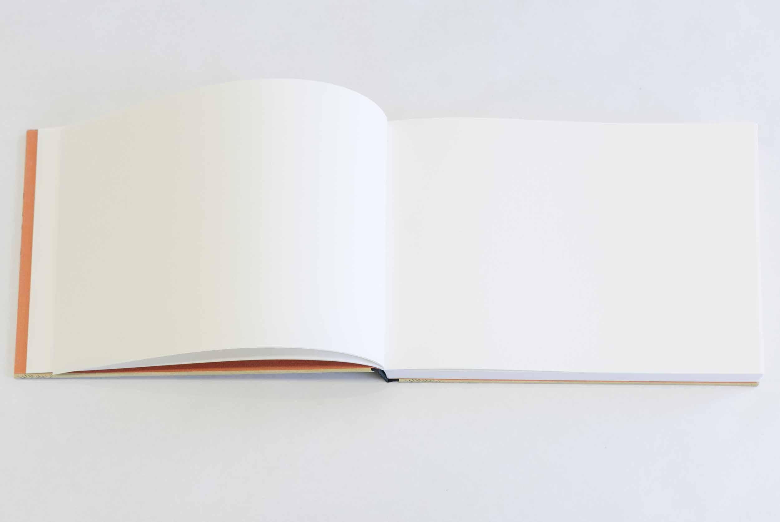 Sketchbook format, design 2 (Girl by the brook), interior pages