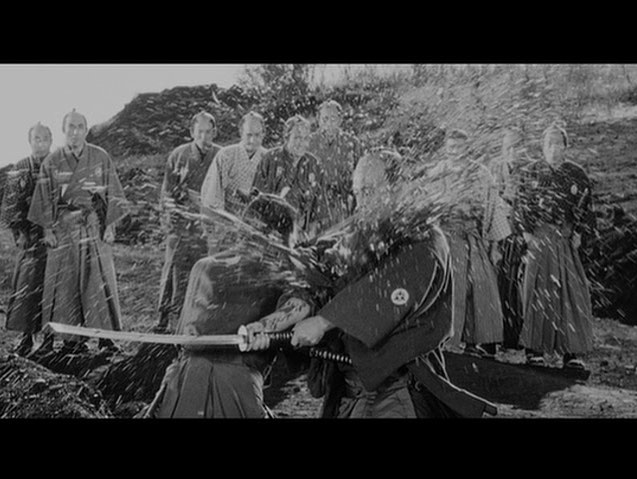 «Sanjuro» (1961), from the master Akira Kurosawa. Epic film from an epic filmmaker, and a big inspiration for «Animositet»! Can't recommend enough :)