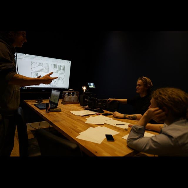 Concept art meetings ❤️⚔️ The process from an idea to paper to explaining it to others to making an actual film is long, but worth it. . . . #filmmaking #animositet #animositetmovie #film #filmisnotdead #filmmaker #films #filmproducer #filmproduction #filmcommunity #story #storyboard #meeting #meetings #art #conceptart #happy #sunday #sundayfunday #sundayvibes #greeneyemedia #artistsoninstagram #weekend #weekendvibes #weekendmood #movie #movies