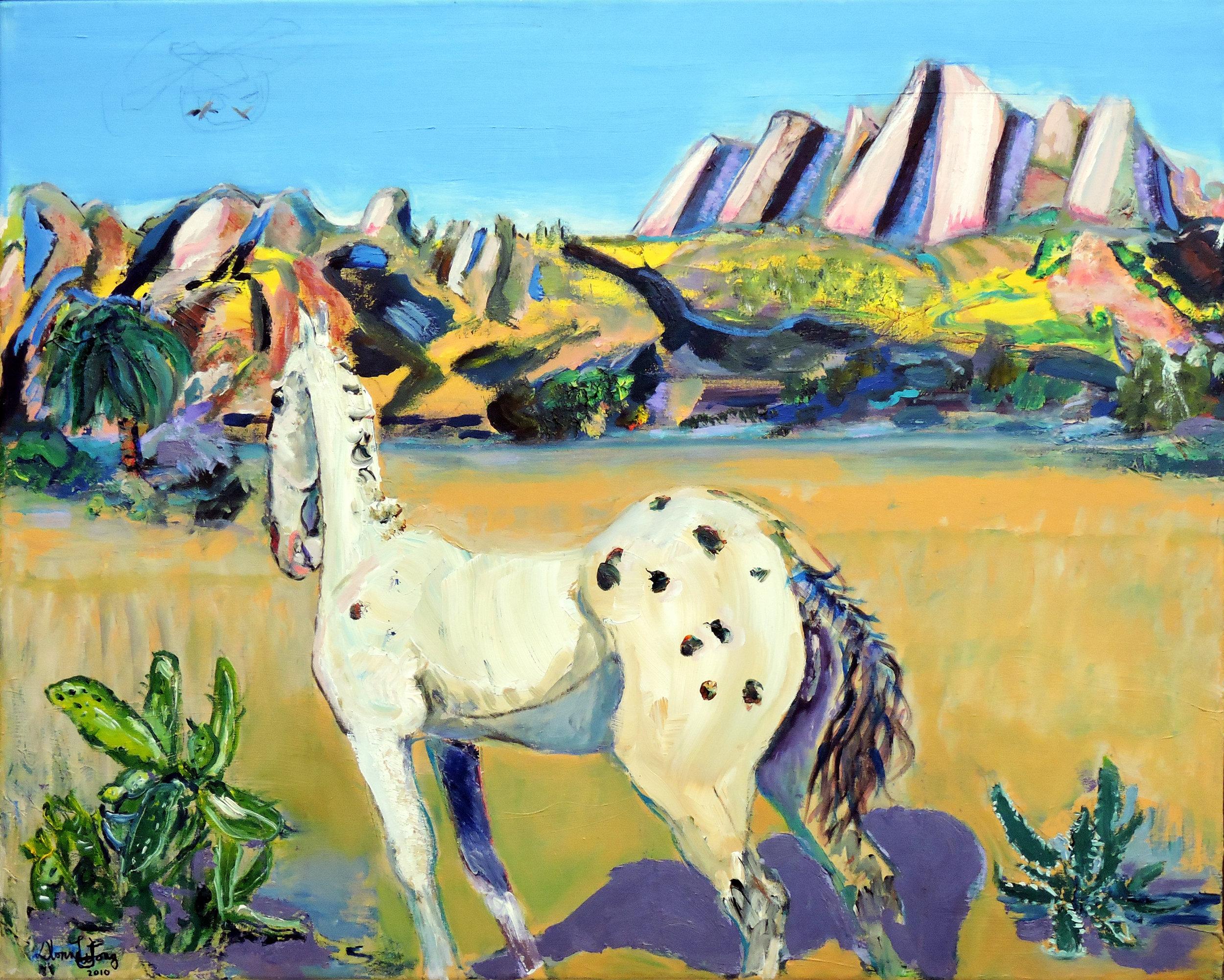 Donna Wilson Long, Mustang Roundup