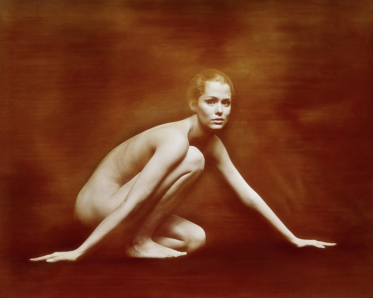 Milton H. Greene,  Lauren Hutton,  ca. 1950, Printed on Innova Exhibition Photo Baryta 310gsm Paper, Limited Edition Sets: 15 of 16 x 20 inches, 20 of 20 x 25 inches, 7 of 45 x 45 inches (max image size)