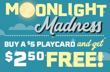 Enjoy evening family fun with Putt-Putt FunHouse's Moonlight Madness!