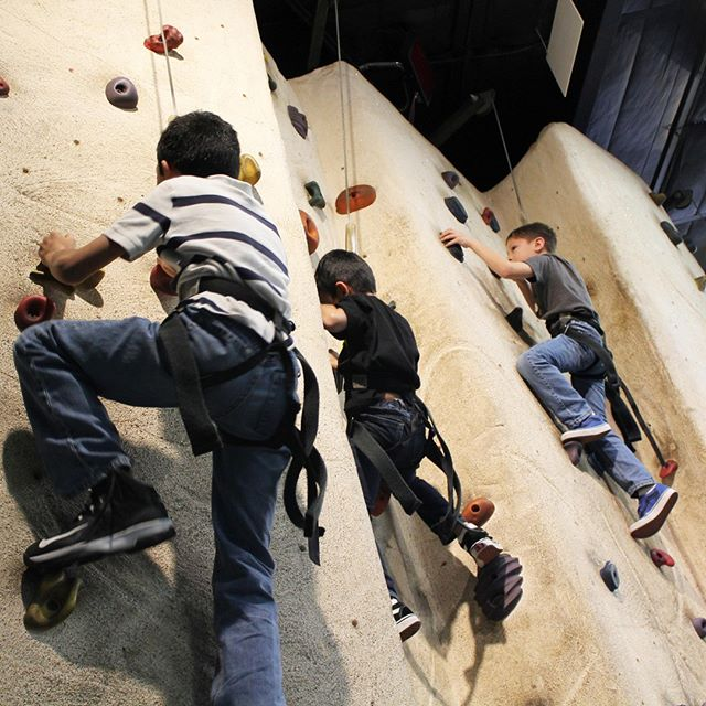 Race your way to the top! The FunHouse rock climbing wall features five unique 22 feet high climbing areas with multiple difficulty levels. Do you have what it takes? . . . #Webster #Texas #PuttPutt  #FamilyFun #Summer #FunPark #FunHouse #OutdoorFun #IndoorFun #InstaTexas #RockWall #RockClimbing