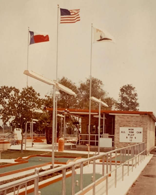 Putt-Putt FunHouse opened their doors in 1979, a defining year for the FunHouse as well as several aspects of pop culture.  In 1979, ESPN launched on cable television! Since that day, ESPN has grown into the powerhouse sports network it is today! . . . #Webster #Texas #PuttPutt  #FamilyFun #Summer #FunPark #FunHouse #OutdoorFun #IndoorFun #InstaTexas