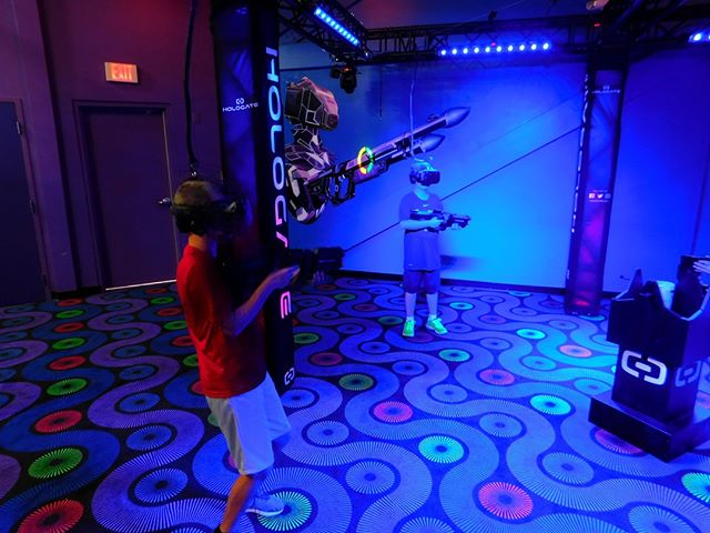 Experience a completely immersive and physically engaging virtual reality adventure with Hologate! Put on the VR headset and be transported to another world. Try it for yourself this weekend with a Mega Pass! . . . #Webster #Texas #PuttPutt  #FamilyFun #Summer #FunPark #FunHouse #OutdoorFun #IndoorFun #InstaTexas