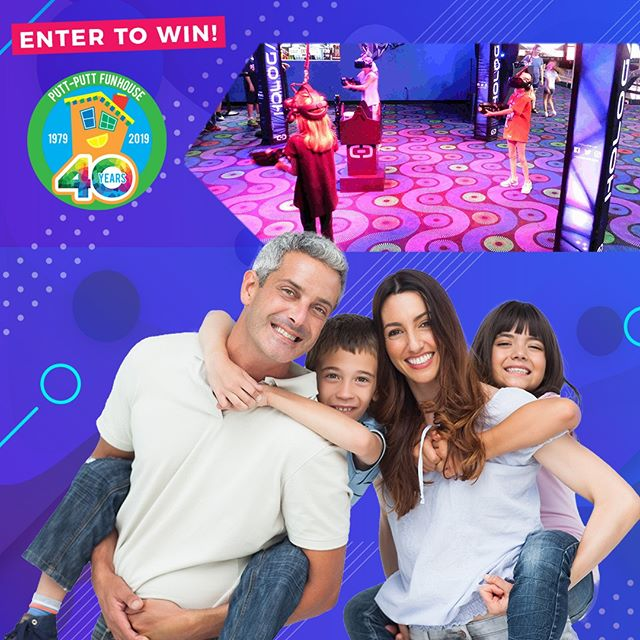 Be sure to enter our September Giveaway for your chance to win 4 Mega Unlimited Passes! The last day to enter is 9/30. Winner will be announced 10/1. Link in bio! . . . #Webster #Texas #PuttPutt  #FamilyFun #Summer #FunPark #FunHouse #OutdoorFun #IndoorFun #InstaTexas