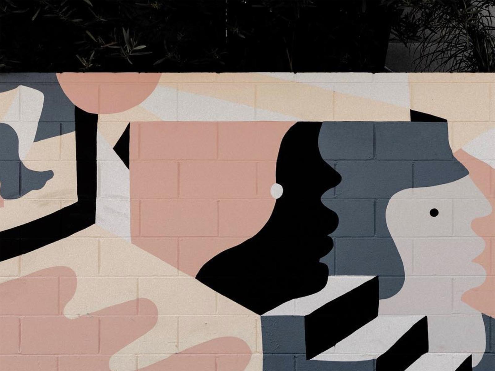 Hunker Mural 2019, Venice California