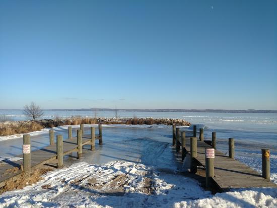 Lake Winnebago - Foot of the Lake