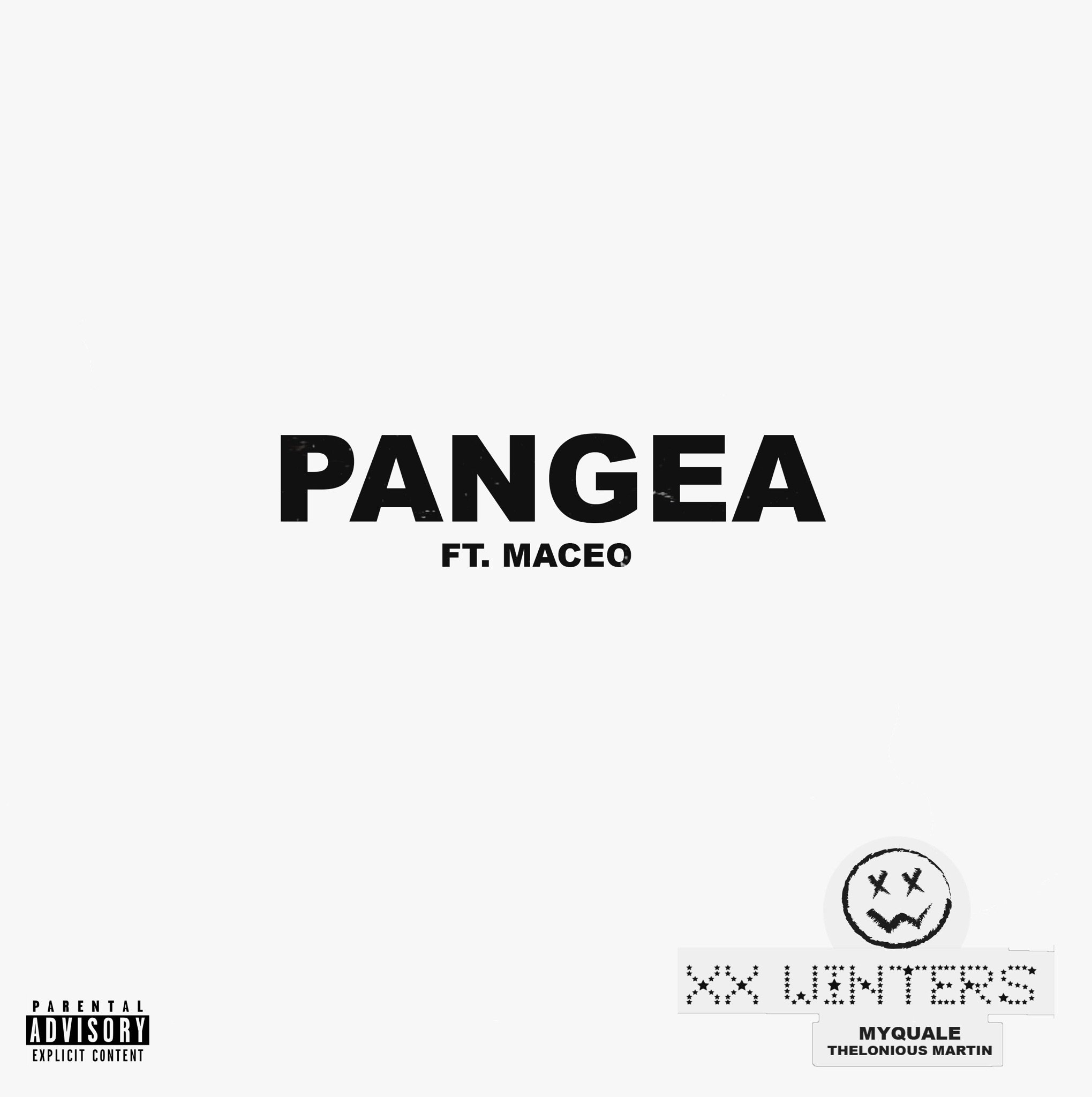 """Cover Art for """"Pangea"""""""