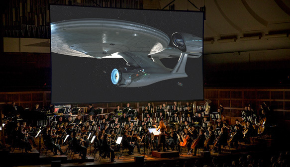 """Star Trek: Live to Projection"" (orchestration)"