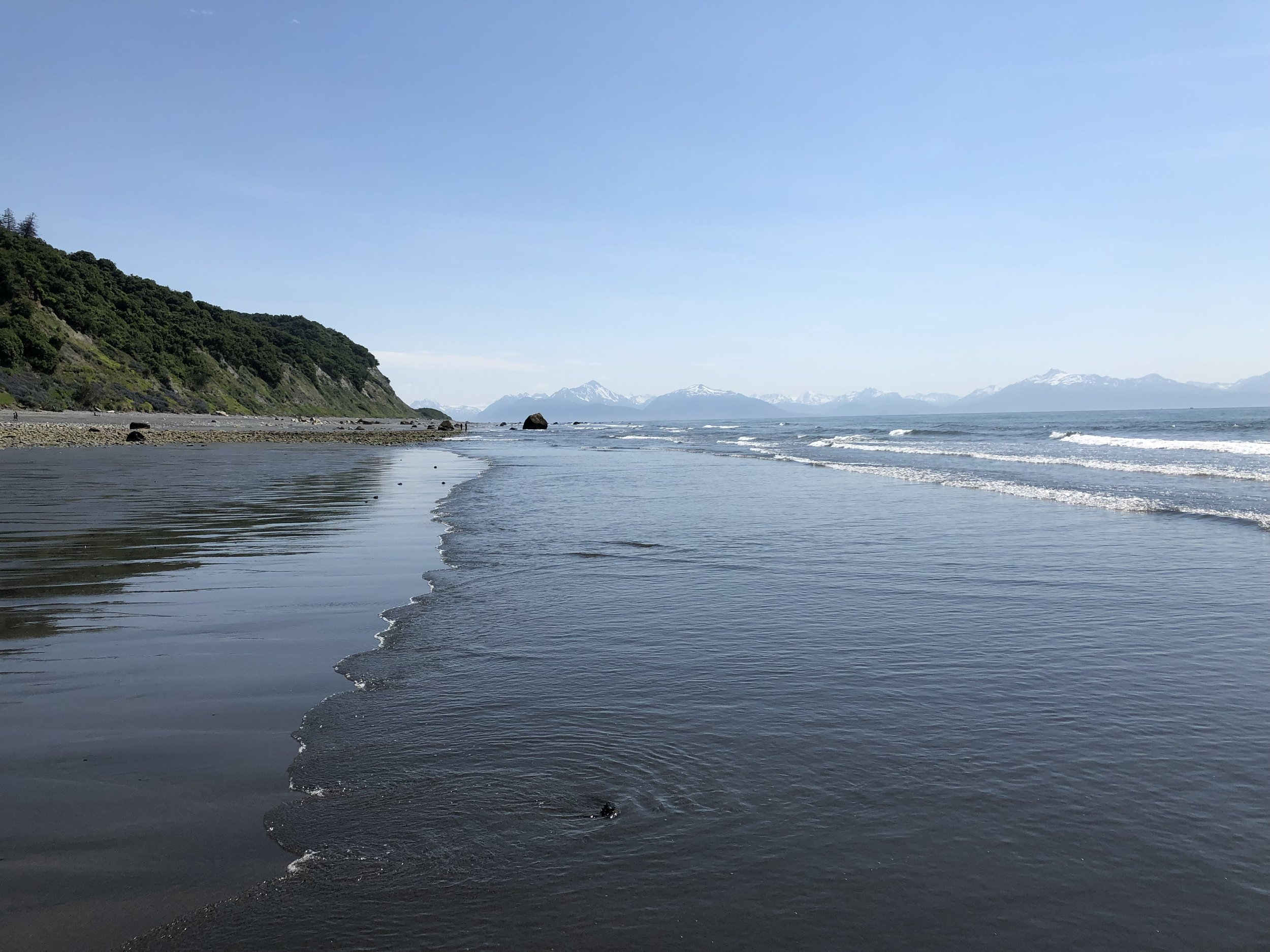 A day at the beach in Homer, Alaska down Diamond Ridge Road. (PS I did go in and it was glorious!)