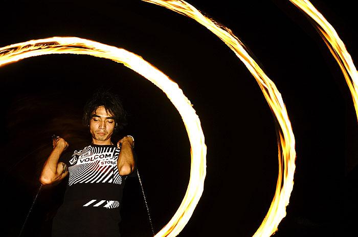 Fire Poi, Ko Tao Thailand