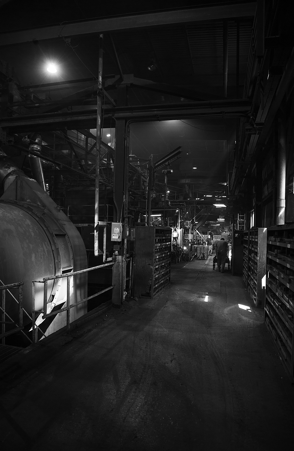 Inside OSCO Steel Foundry, Ohio