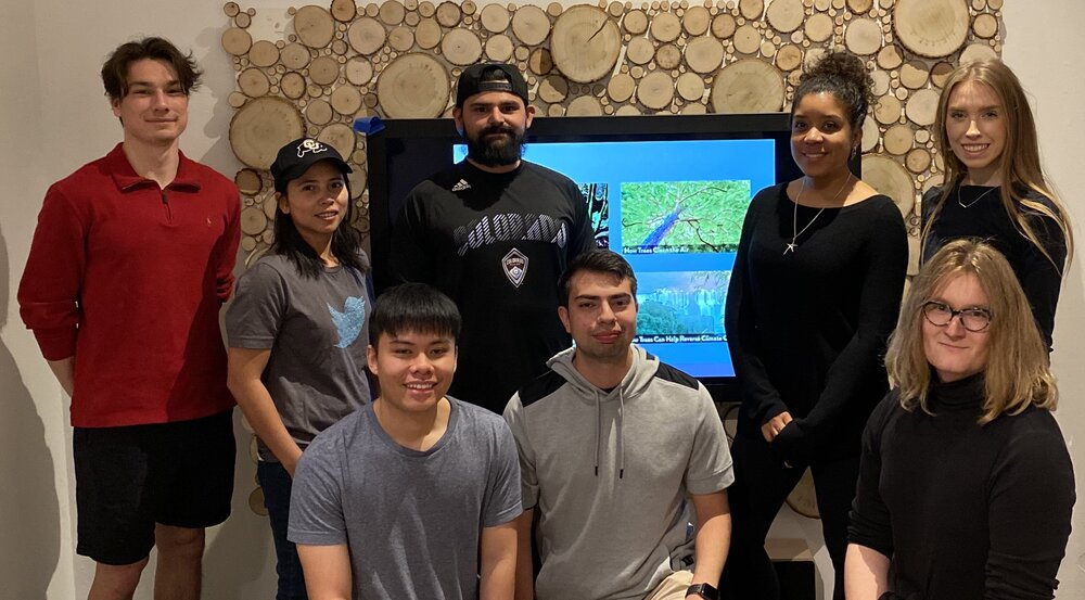 Team Eden Crashers created the interactive map as part of their senior capstone experience.