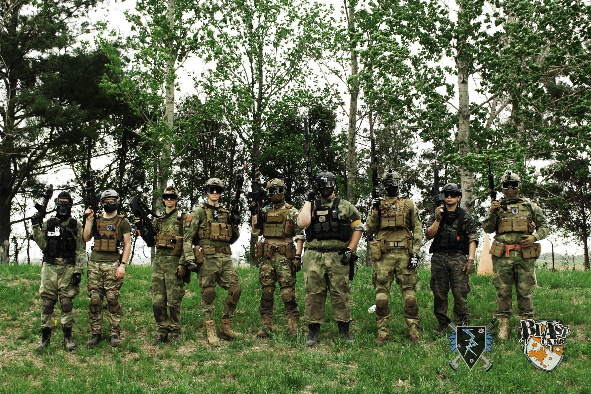 Conflicts: Bosnia, Blast Camp, 2015