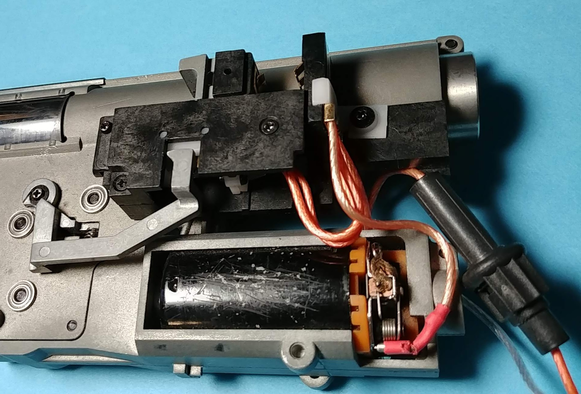 Gearbox out of the gun