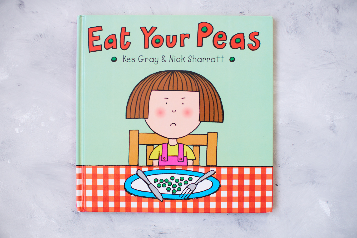 Eat your peas book