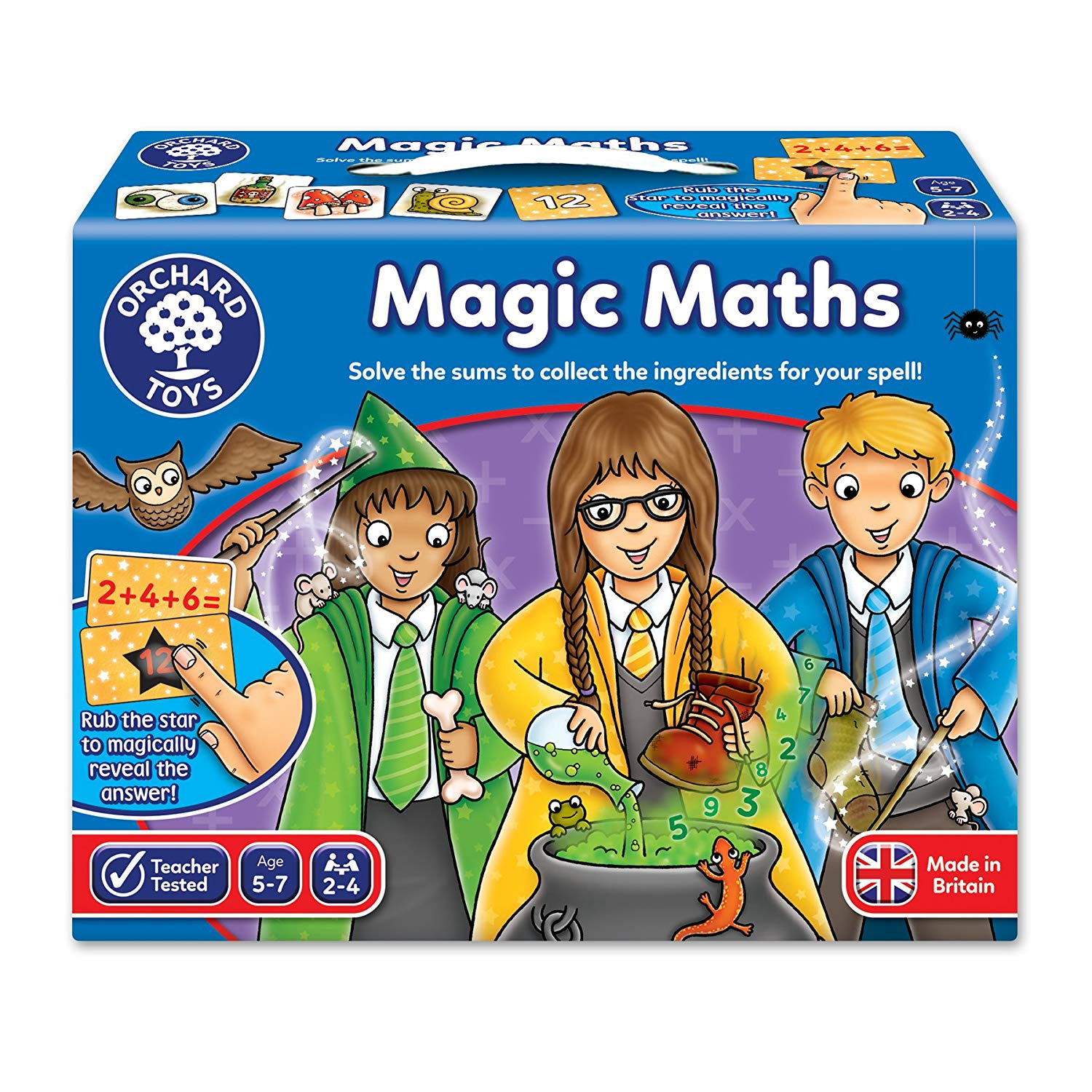 Orchard Toys Magic Maths -