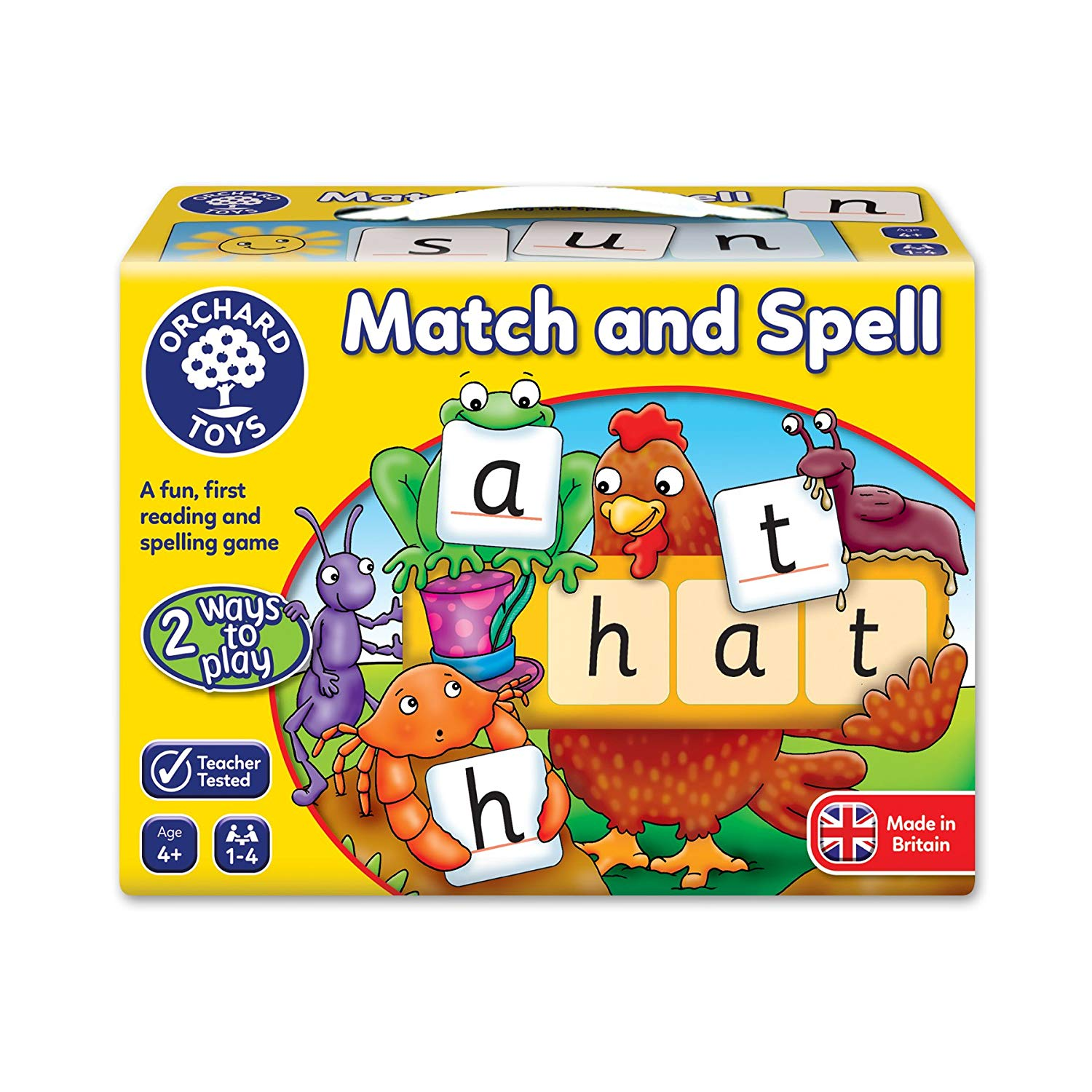 Orchard Toys Match & Spell -