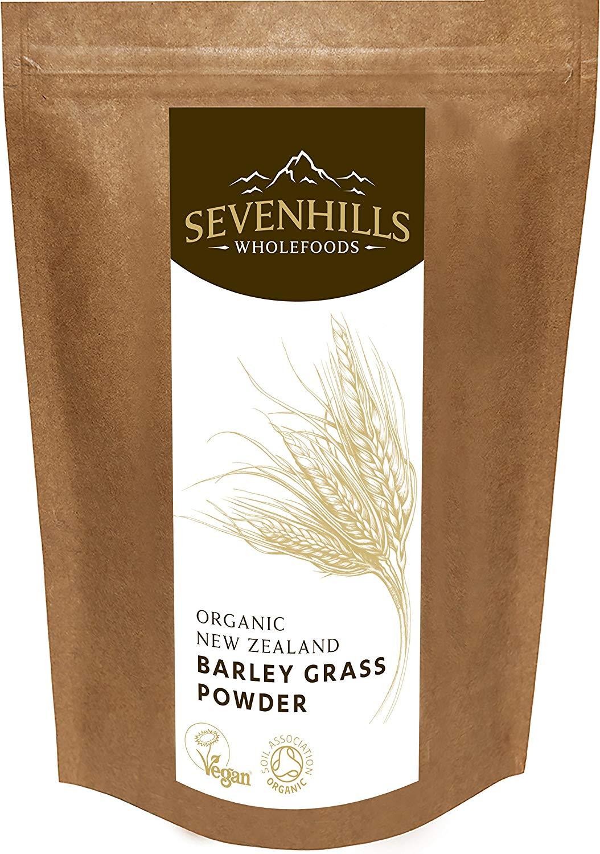 Sevenhills Wholefoods Organic New Zealand Barley Grass Powder -