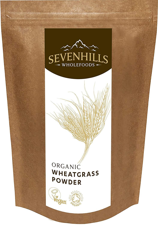 Sevenhills Wholefoods Organic European Wheatgrass Powder -
