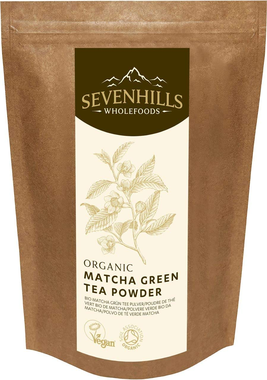 Sevenhills Wholefoods Organic Classic Matcha Tea Powder -