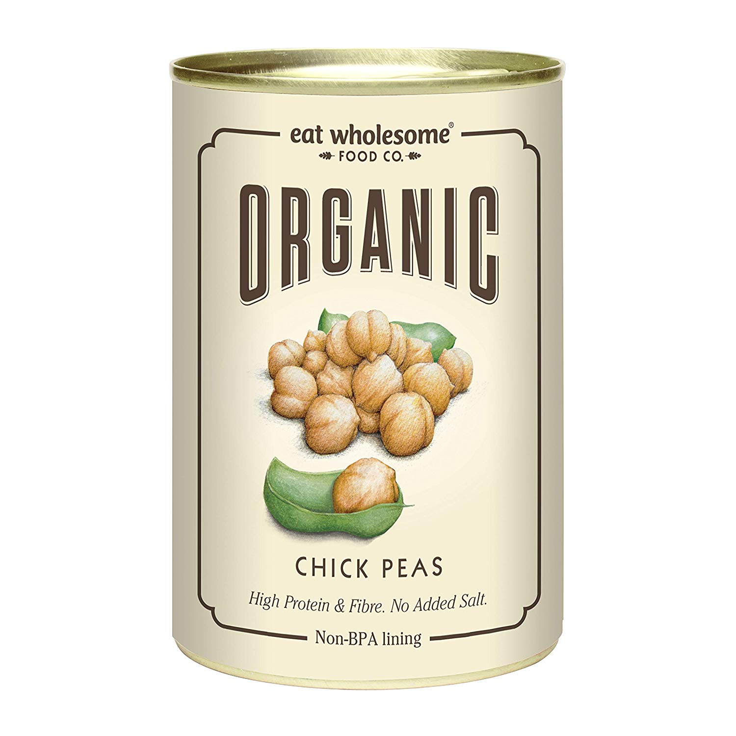 Eat Wholesome Organic Chick Peas -