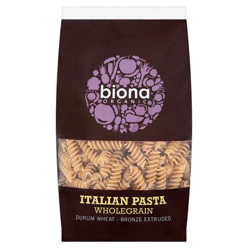 Biona Organic Wheat Pasta Wholegrain Fusilli -