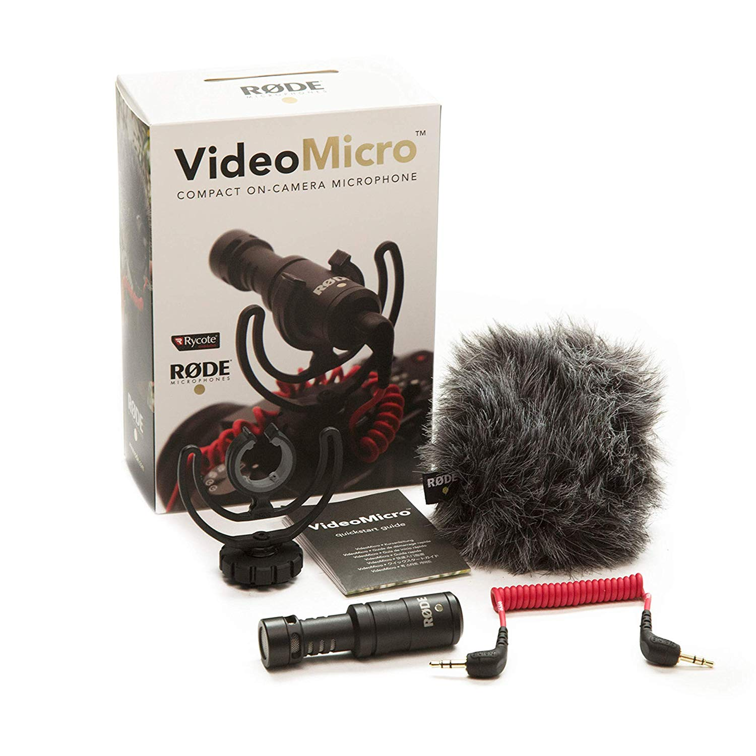 Rode VideoMicro Compact On Camera Microphone -