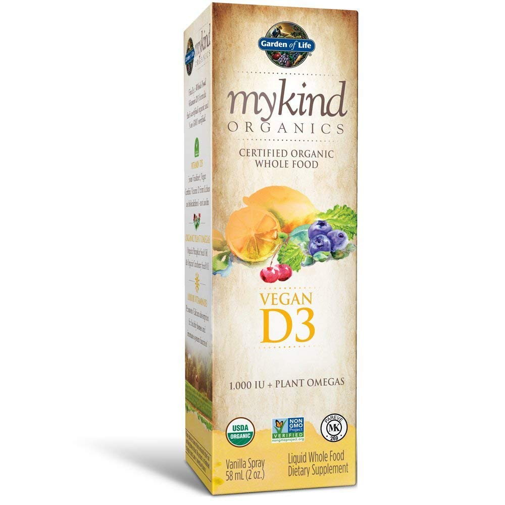 Garden of Life mykind Organics Vegan D3 Spray -