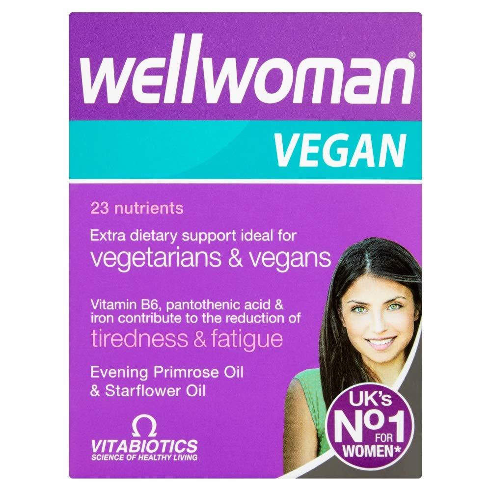 Wellwoman Vitabiotics Vegan Tablets -